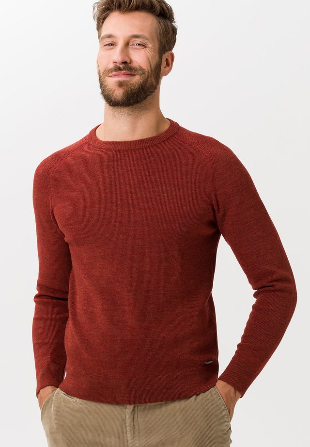 STYLE ROY - Pullover - rust