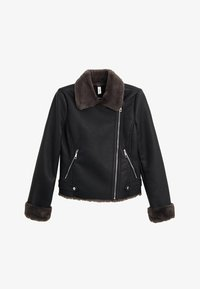 Mango - CADI - Faux leather jacket - schwarz - 6