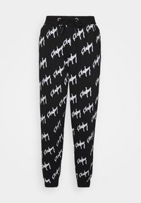 Missguided - PLAYBOY GRAFFIFTI OVERS - Tracksuit bottoms - black - 3