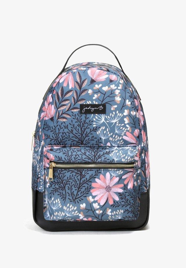 VERA - Batoh - navy floral