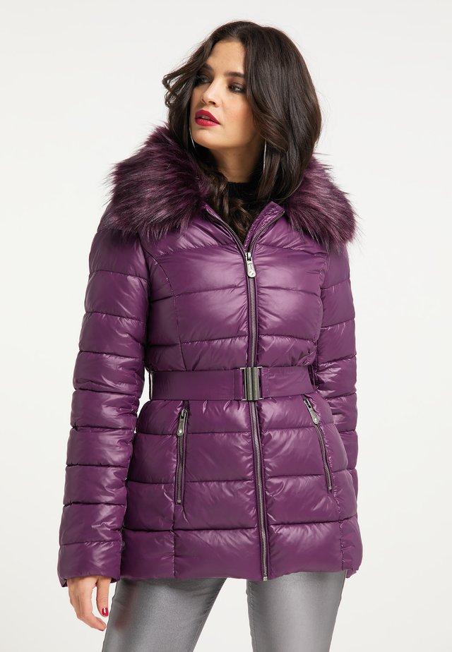 Winterjas - violett