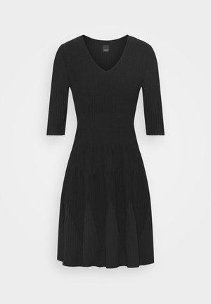 RIGORE ABITO MISTO - Jumper dress - black