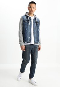 Brave Soul - Denim jacket - blue denim/grey - 1