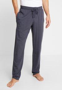 Schiesser - BASIC - Pyjamabroek - dark grey - 0
