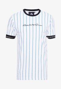 Kings Will Dream - CLIFTON - T-shirts med print - white/cobolt - 3