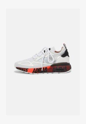 ZX 2K BOOST UNISEX - Sneakers basse - white/silver/core black