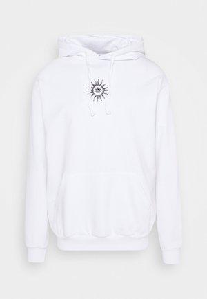 SUD CAP NEW ORDER UNISEX - Mikina skapucí - white