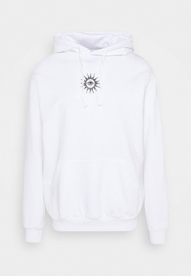 Kaotiko - SUD CAP NEW ORDER UNISEX - Hoodie - white