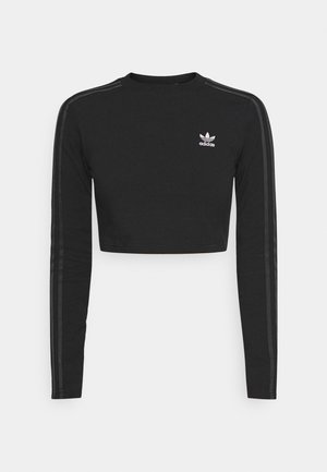 CROP - Longsleeve - black