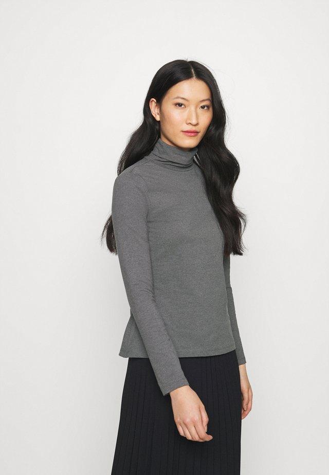 T-shirt à manches longues - mottled grey