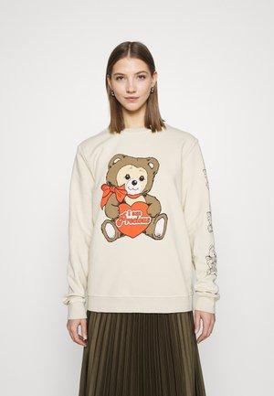PRECIOUS TEDDY - Sweatshirt - pale pink