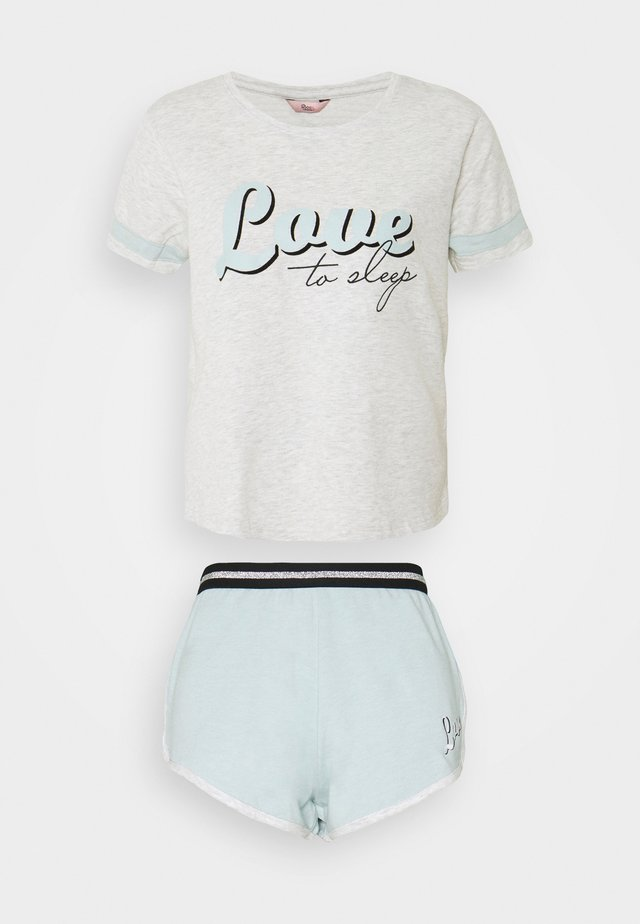LOVE TO SLEEP SET - Pyjama - grey marl mix