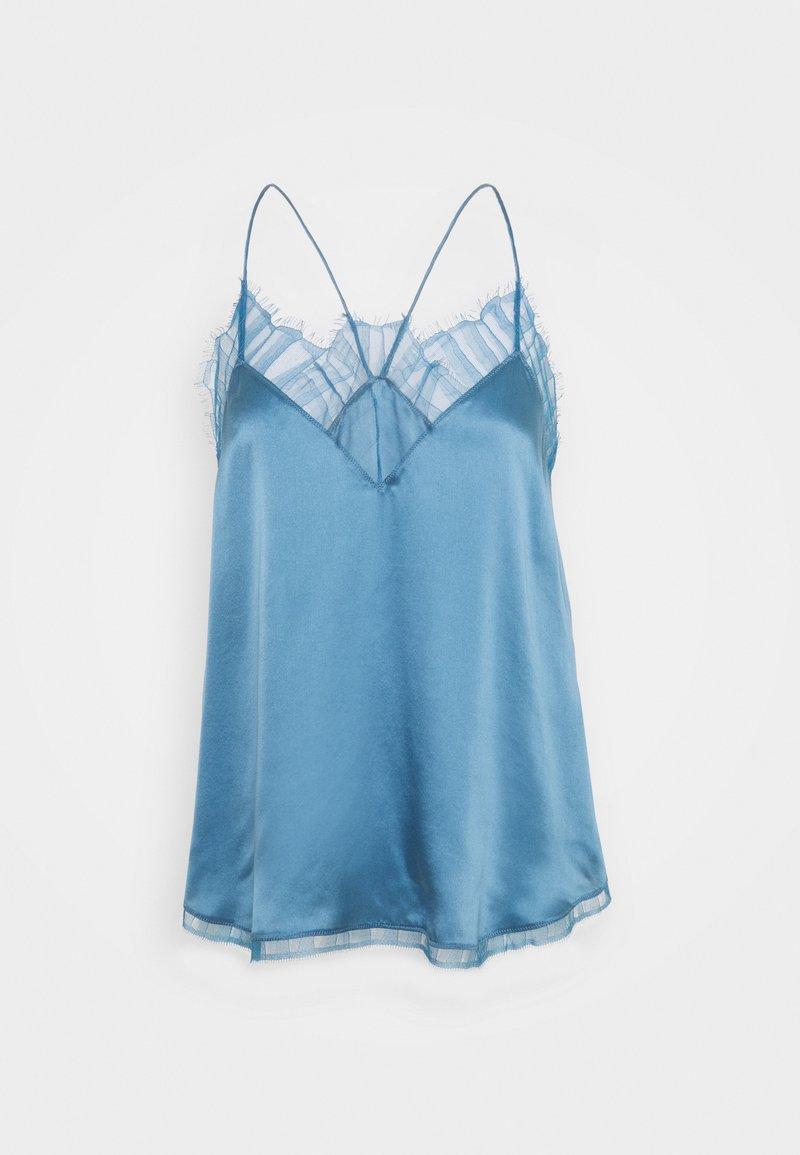 Iro - BERWYN - Débardeur - denim blue