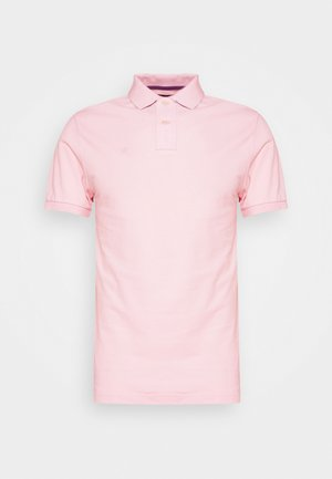 SLIM FIT LOGO - Polo - baby pink