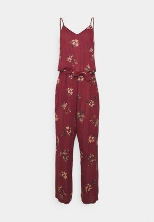MOKI WOMENS JUMPSUIT - Pyjama - auburn red