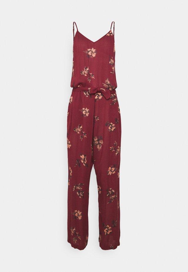 MOKI WOMENS JUMPSUIT - Beach accessory - auburn red