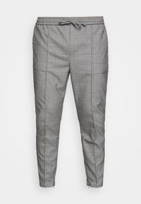 RALPHI SMART JOGGERS - Trousers - grey check