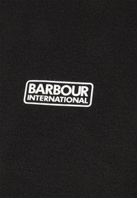 Barbour International - OVERSTEER HOODIE - Mikina skapucí - black - 2