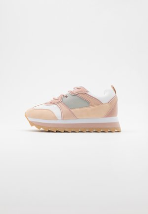Sneakers laag - white/nude
