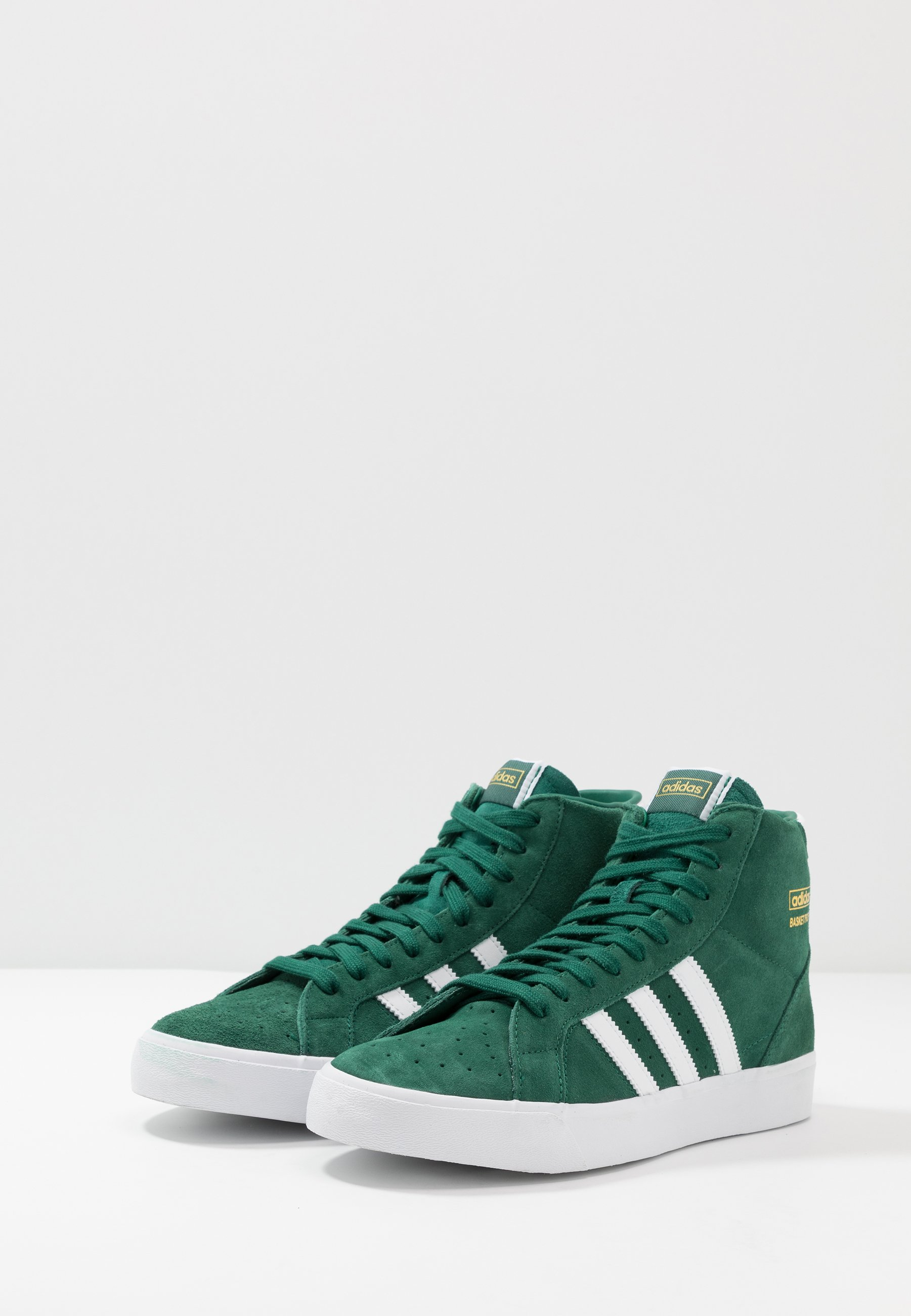 100% Original Outlet Women's Shoes adidas Originals BASKET PROFI Trainers collegiate green/footwear white/gold metallic H5A8wHNBv hBQbcNH7k