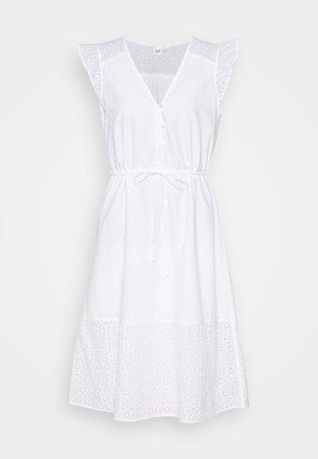 MIDI DRESS - Day dress - optic white
