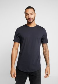 Only & Sons - ONSMATT LONGY 7 PACK - Basic T-shirt - dark blue/bordeaux/khaki - 3