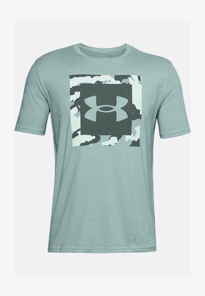 Print T-shirt - enamel blue