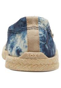 Roxy - CORDOBA - Espadrilles - navy/white - 2