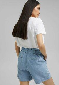 Esprit - Denim shorts - blue light washed - 2