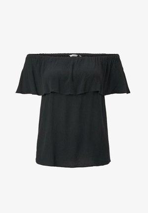 Blouse - deep black
