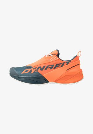 ULTRA 100 - Trail running shoes - shocking orange/orion blue