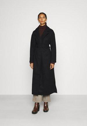 ONLEMMA LONG WRAP COAT - Classic coat - black