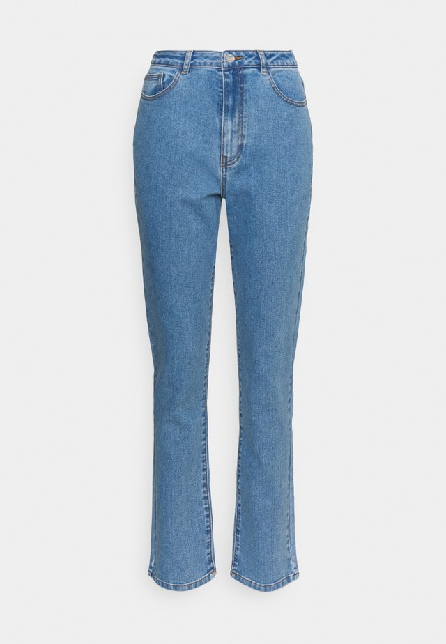 HIGHWAISTED STRETCH - Straight leg jeans - blue