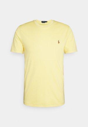 CUSTOM SLIM SOFT COTTON TEE - Basic T-shirt - empire yellow