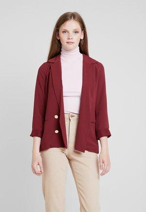 Blazer - burgundy