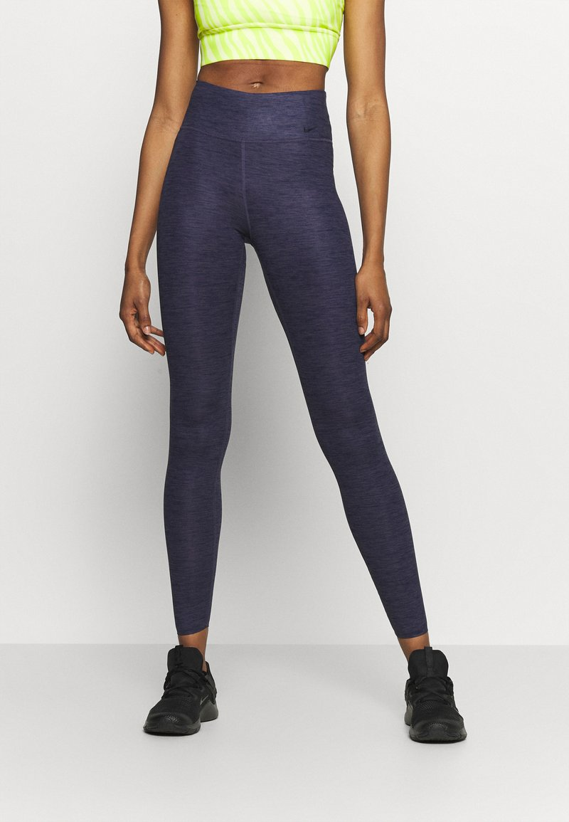 Nike Performance - ONE LUXE - Tights - obsidian