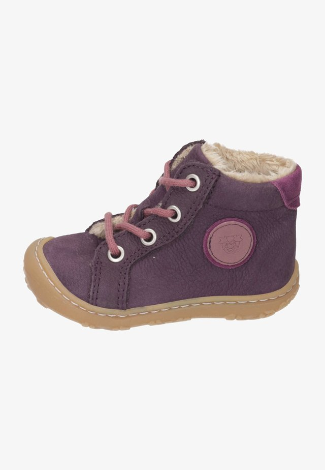 LAUFLERN SCHNÜRER - Lace-up ankle boots - plum/fuchsia