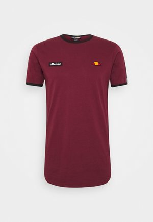 FEDORA - T-shirts print - burgundy