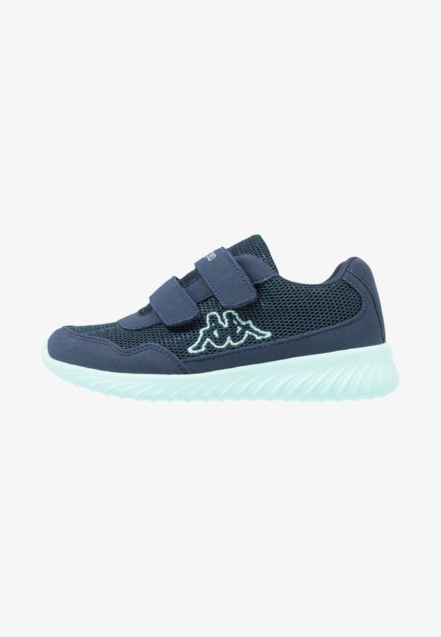 CRACKER II - Zapatillas de entrenamiento - navy/mint