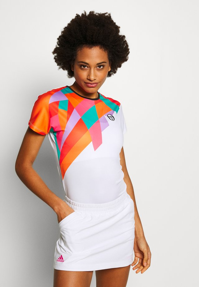 TANGRAM - Printtipaita - white/multicolor