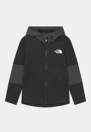 WINTER WARM HOODIE - Mikina na zip - black