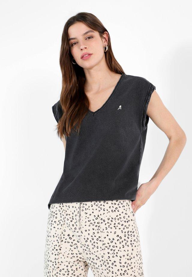 RIGHT  - Basic T-shirt - dark grey