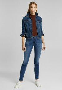 Esprit - FASHION  - Slim fit jeans - blue medium washed - 3