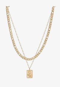 Topshop - FINE TAG MULTIROW - Halskette - gold-coloured - 3