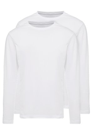 2 PACK - Langærmede T-shirts - white