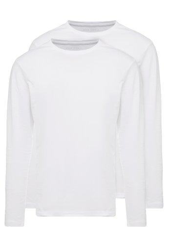 2 PACK - Pitkähihainen paita - white