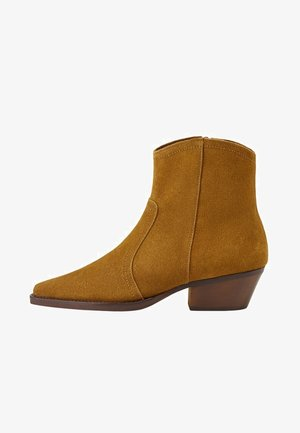 CRUCE - Ankle boots - tobacco-braun