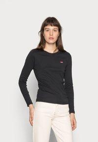 Levi's® - BABY TEE - Long sleeved top - black - 0