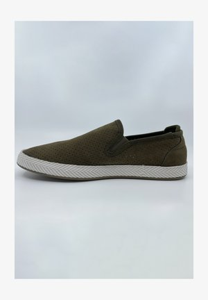 SAMUEL - Loafers - olive green