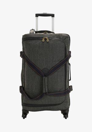 Wheeled suitcase - black indigo